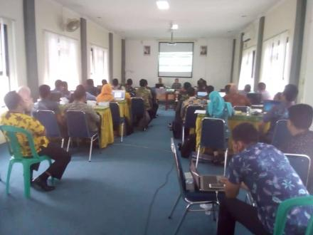 PELATIHAN SISKEUDES VERSI 2.0 BPKP PROPINSI JAWA TENGAH